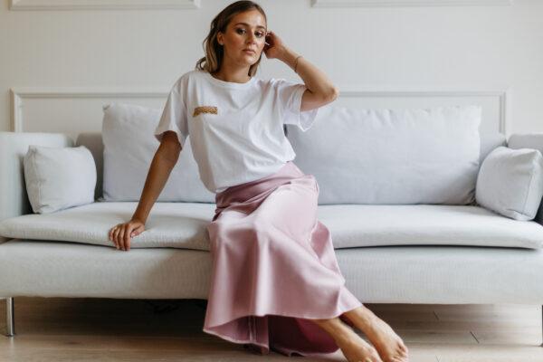 Satynowa spódnica Elena
