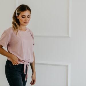 Koszulka różowa Ann