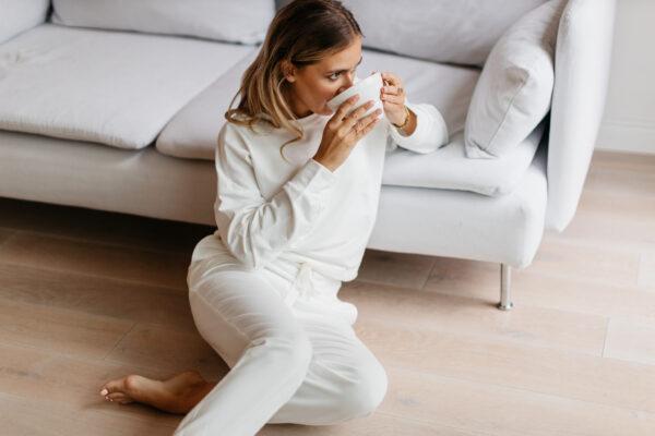 Bluza dresowa white