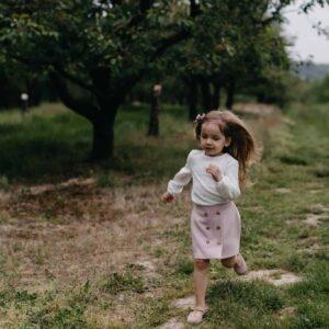 Dziewczęca koszula w krateczkę z bawełny