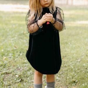 Sukienka z aksamitu Aurora