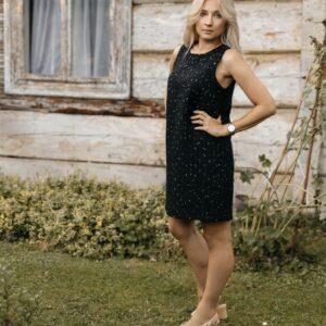 Klasyczna tweedowa sukienka Verona