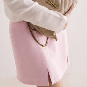 Trapezowa spódnica Pink Power