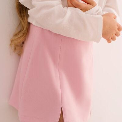 Trapezowa spódnica Pink Power mini