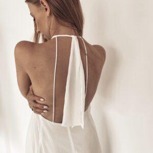 Długa plisowana sukienka Selena
