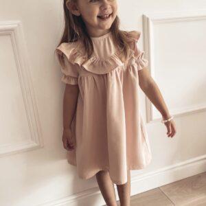 Dziewczęca sukienka z krótkim rękawem Luna