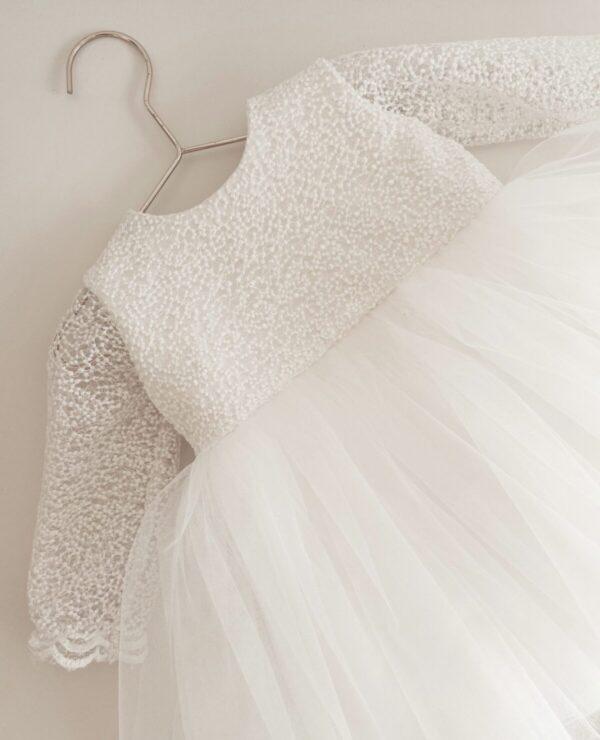 Elegancka sukienka z koronką Elizabeth